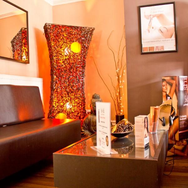 Beauty Lounge waiting area